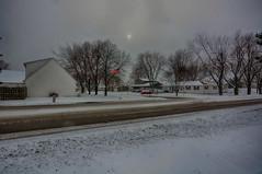 Winter Comes to Morris (kendoman26) Tags: hdr nikhdrefexpro2 snow firstsnowoftheseason nikon nikond7100 tokinaatx1228prodx tokina tokina1228 morrisillinois