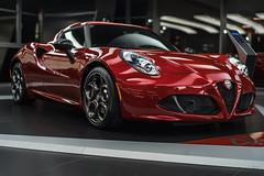 Alfa Romeo 4C (lu_ro) Tags: alfa romeo 4c italy italia arese sony a7 50mm samyang red car passion automotive sport fast showroom