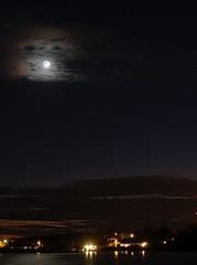 PC213295 (Paul Henegan) Tags: fortpond montaukny moon yule availablelight clouds dusk earthshine longexposure reflections shore sky stars water waxingcrescent winter astrometrydotnet:id=nova2385514 astrometrydotnet:status=solved