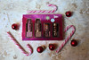Too Faced - Under the Kissletoe (House Of Secrets Incorporated) Tags: toofaced lipstick liquidlipstick lipstickliquid lipstickmakeupbeautycosmetics lipgloss melted meltedmatte meltedlatex meltedchocolate set christmas candycane bauble baubles ornament underthekissletoe