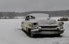 Cadillac. (lortopalt) Tags: abandoned övergiven bil car cadillac snö översnöad snow caddy
