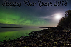 Happy New Year 2018 (Winglet Photography) Tags: wingletphotography northernlights auroraborealis georgewidener stockphoto solarstorm aurora geomagnetic earth sun canon 7d storm solar georgerwidener night nighttime longexposure dark inspiration lights colors sky nature gullharbour heclaisland manitoba canada lakewinnipeg