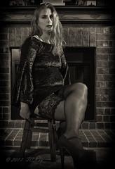 _DSC6669BW (Jay6099) Tags: sexy dress nylons stockings heels high legs leg long new years