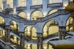 Up down up down (*Capture the Moment*) Tags: 2017 architecture architektur fotowalk häuserwohnungen innenarchitektur interior interiordesign munich münchen sonya6300 sonyfe1635mmf4zaoss sonyilce6300 staircase star treppen treppenhaus