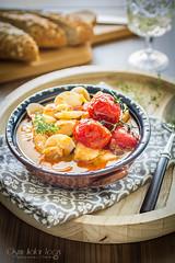 Fish soup (Malgosia Osmykolorteczy.pl) Tags: food foodie foodphoto foodstyling fotografia jedzenie kuchnia culinary kulinerne soup fish tomatoes tomato pomidory ryby zupa