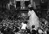 ALmosT. (WaRMoezenierr.) Tags: zwart wit blanco negro black white procession processie valencia spain espana crowd