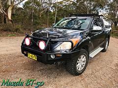 My BT-50 (smortaus) Tags: mazda bt50 4x4 4wd colour color australia bluemountains nswaustralia iphoneiphone iphone7plus outdoors mitchellridgelookout 2012