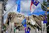 State Flags Tribute (Jim Johnston (OKC)) Tags: mountrushmore southdakota stateflags oklahoma northcarolina
