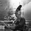 High Tide BW 2017 (stevedexteruk) Tags: porthcawl christmas xmas 2017 swim elf fancydress costume festive cafe bar man swimming hightide pub square 1x1 bw mono blackandwhite squareformat