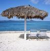 Bahamas, Nassau, Pearl Island (Todron) Tags: rollei rolleiflex rolleiflex35f planar 75mmf35 tlr biottica 6x6 120 220 mediumformat filmcamera film fuji fujifilm fujichrome provia fujichromeprovia100f diapositiva slide e6 epson v600 medioformato square squareformat autaut transparency nassau bahamas pearlisland island mare sea sky bluesky cielo clouds nuvole umbrella chairs sedie ombrellone sabbia spiaggia beach