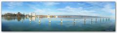Lake`s reflection... (Szemeredi Photos/ clevernails) Tags: hungary keszthely lakebalaton reflection panorama color christmas festing holiday travel water sky relaxation hotel lakeside strand lake