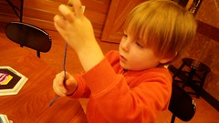 """Paul Making Crafts at the Nature Center • <a style=""""font-size:0.8em;"""" href=""""http://www.flickr.com/photos/109120354@N07/25519905428/"""" target=""""_blank"""">View on Flickr</a>"""