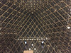 2017 Paris: Inside the The Louvre Pyramid at Night #1 (dominotic) Tags: 2017 muséedulouvre insidethethelouvrepyramidatnight muséedulouvrebynight artgallery history museum grandlouvre antiquities architecture archaeology thelouvrepyramid pyramidedulouvre glasspyramid iphone6 paris france europe