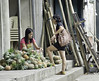 Transaction (Beegee49) Tags: street pineapples vendor seller buyer filipina bacolod city