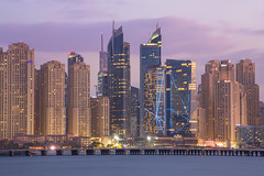 JBR Dubai Marina - Dubai (HarveyDxb) Tags: dubai uae emirates jbr skyline sunset hotel luxury epic scenic lights architecture design amazing towers buildings skyscrapers rixos marina premium