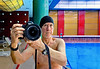 China October 2017. Xi'an. Selfie at the swimming pool. (Margnac) Tags: margnac jeanpaul china chine xian swimmingpool piscine hotel selfie autoportrait canon