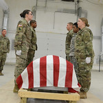 Virginia National Guard leads Level 1 Funeral Honors training for Va., Md., N.C. Soldiers thumbnail