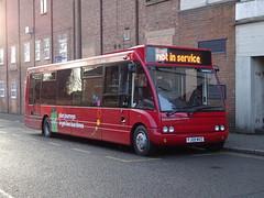 trent barton 475 Heanor (Guy Arab UF) Tags: trent barton 475 fj09mvz optare solo m920 bus heanor wilmot street derbyshire wellglade buses wellgladegroup