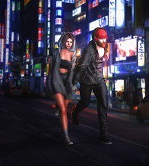 404.p178 | Baby we gotta get out... let's get outta of this town (trendyandcoffee) Tags: secondlife sl k9 kustom9 city town japanese run couple love friends hoodie gabriel gb semller entwined anaposes shinyshabby collabor88 events blogger post artist art fashion style colours nature photoshop escape