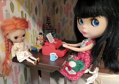 December Calendar Girl - A Letter to Santa