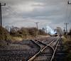 56 (Peter Leigh50) Tags: foxton cambridgeshire class 56 grid clag train railway track line lines post pole rural