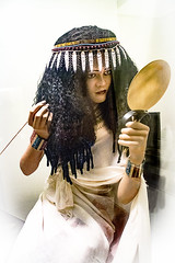 Egyptian Princess at the ROM (Daxcat) Tags: egyptian princess rom royal ontario museum