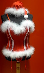 Too late, Christmas is over ;-) (BrigitteE1) Tags: christmas toolate santagirl fun spas weihnachten zuspät weihnachtsfrau