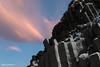 Factory (Daniel Moreira) Tags: reynisfjara beach vík reynisdrangar basalt columns snow mountains sea sunrise iceland icelandic ísland islândia islande islanda clouds