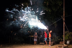 Diwali (Romain Grivet) Tags: fiji island pacific bula backpacker travel travelling people diwali hindou indian culture celebration lights religious religion firework road trip