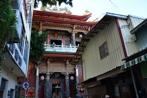 King of Medicine Temple in Shennong Street (Tainan, Taiwan 2017)