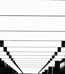 NICOLLET MALL . . . A PERSPECTIVE I (panache2620) Tags: minneapolis nicolletmall abstract representation perspective modernity streetart publicinstallation eos canon publicart