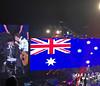 2017 Sydney: Paul McCartney - Mull of Kintyre #7 (dominotic) Tags: 2017 paulmccartney mullofkintyre governormacquariememorialpipeband concert paulmccartneyoneonone thebeatles wings music mondaydecember112017 paulmccartneysetlist iphone8 popmusic rockroll blue red sydney australia