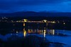 6246 Blue hour - Pont Grog y Borth - Menai Suspension Bridge (Andy - Busyyyyyyyyy) Tags: bbb bluehour bridge menaibridge menaistraits menaisuspensionbridge mmm pontgrogyborth ppp seawater sss water www
