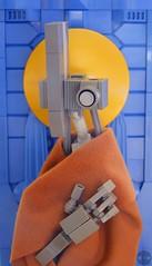 ST. 67656f7267 (Djokson) Tags: robot drone mechanical saint halo nimbus robes grey blue gold brown bionicle lego moc djokson toy monk