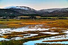Across Insh Marshes (Fr Paul Hackett) Tags: kingussie marsh mountain colour landscape insh