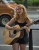 Street Musician (swong95765) Tags: sing guitarist musician woman female lady blonde pretty