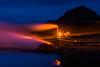 Iceland 2017 - Bjarnarflag Power Station (cesbai1) Tags: norðurlandeystra islande is bjarnarflag power station myvatn lake lac zone geothermale geothermal area iceland islandia islanda night blue hour heure bleue pose longue lente long exposure