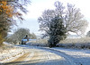 Winter Roads (Jean Turner Cain) Tags: infocus highquality christmas white winter jeanturnercain northyorkshire lane road snow