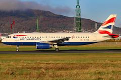 G-TTOB_01 (GH@BHD) Tags: gttob airbus a320 a320200 ba baw britishairways speedbird shuttle bhd egac belfastcityairport airliner aircraft aviation