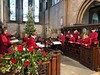 Christmas Minster (BiggestWoo) Tags: christmas tree cassock violin string strings church sing choral choristers chorister choir minster grimsby