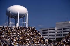 University of Iowa Stadium - 1984 (Ron of the Desert) Tags: film slidefilm positivefilm reversalfilm e6 iowacity iowa watertower stadium footballstadium football uofi universityofiowa hawkeyes epsonperfectionv600