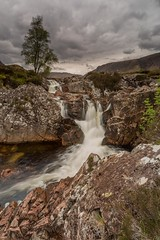 River Coupall Waterfall (Chris_Hoskins) Tags: rivercoupall scottishlandscape wwwexpressionsofscotlandcom scottishlandscapephotography landscape waterfall scotland glencoe