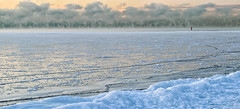 Hot and Cold - 0436 (RG Rutkay) Tags: lakeontario toronto cold earlymorning seascape winter water shore clouds condensation weather frigid dawn