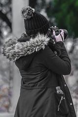 Robado 01 (raulbbx) Tags: photographer stolen caught fille volé attrapé robado fotógrafa chica girl sexi pillada planetario de madrid delicias vallecas mendez alvaro canon retrato