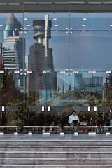 Always Working (bryanlotz) Tags: shanghai china asia working notebook reflection city skyline