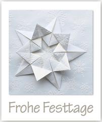 Frohe Festtage (steffi's) Tags: frohefesttage origami origamistar folded falten paper papier papel stella star odc ourdailychallenge essence