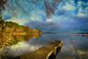 Lac d'Aureilhan (40) (GerardMarsol) Tags: baie ciel couleurs deversoir france feuilles forêt ile landes lumières lac mimizan nature nuages ombres paysage reflets soleil sud temps automne eau arbres bois arbre pelouse calme montagne aquitaine aureilhan steeulalie born lumière