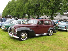 1952 Humber Super Snipe. Moffat Classic Weekend. (Yesteryear-Automotive) Tags: 1952 humber super snipe motorcar car moffat classic weekend scotland