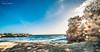 Sunrays (PixelChariot) Tags: sunrays sunset nusa lembongan bali indonesia beach sea canon5d canon samyang samyang14mm