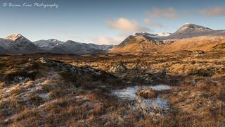 Rannoch Moor - A Winter Morning